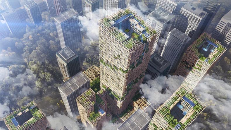 Da klopft man auf Holz: Tokio soll hölzernen Wolkenkratzer bekommen