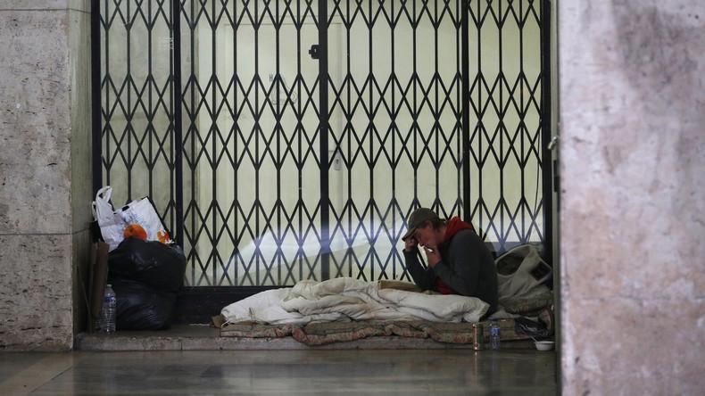Studie: Mehr als 5.000 Menschen in Paris obdachlos