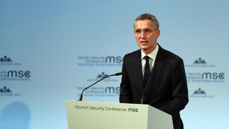 Stoltenberg: NATO sieht in Russland keine Gefahr