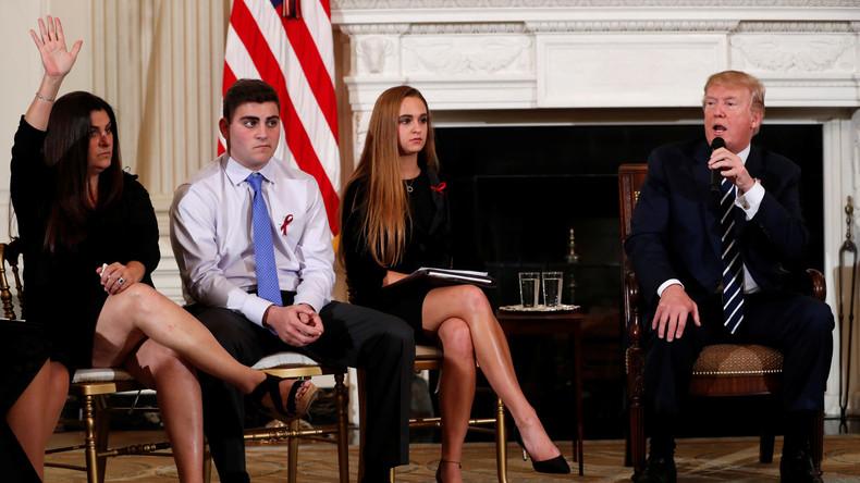 USA: Als Mittel gegen Schulmassaker erwägt Trump die Bewaffnung von Lehrern