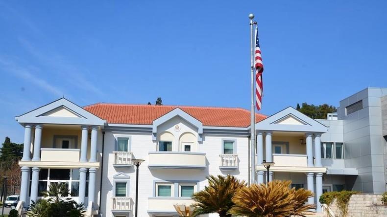 Selbstmordattentäter sprengt sich an US-Botschaft in Montenegro in die Luft