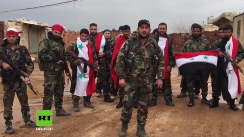 """Pro-Regierungsmilizen in Afrin: Werden """"türkisch-zionistische Aggression der Osmanen"""" bekämpfen"""