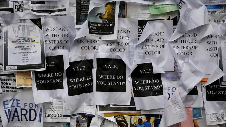 """Yale University startet Kurs zu """"Konstruktionen des Weißseins"""""""