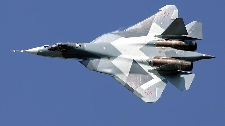 Schnappschuss: Neuester russischer Su-57-Tarnkappen-Kampfjet in Syrien stationiert