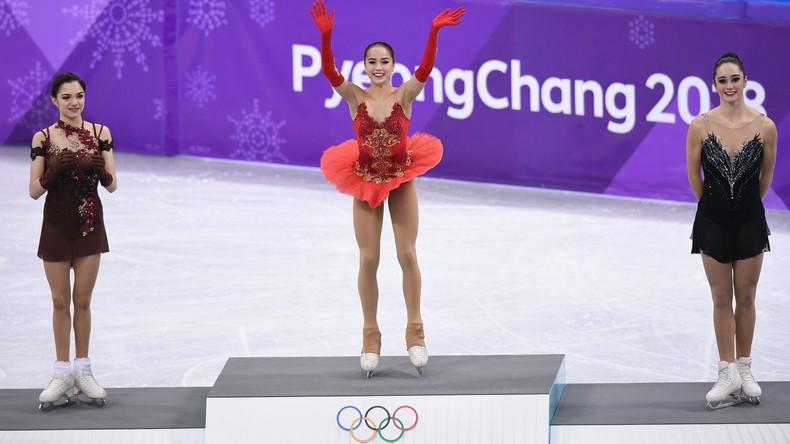 Eiskunstläuferin Sagitowa gewinnt erstes russisches Gold