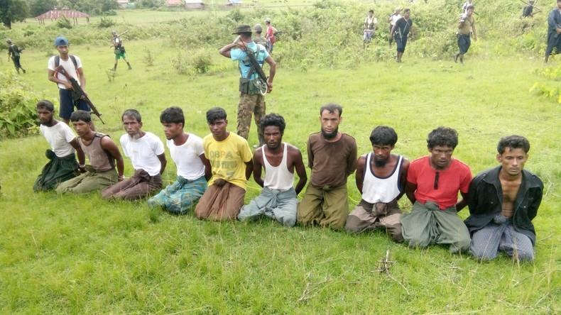 Satellitenbilder verraten: Militär macht in Myanmar muslimische Dörfer dem Erdboden gleich