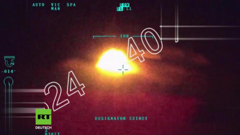 Syrien: Hilfs- oder Terror-Konvoi? - Luftaufnahmen vom türkischen Angriff auf Konvoi bei Afrin