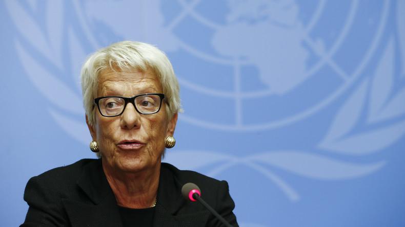 Auszeichnung für kontroverse Anklägerin: Carla Del Ponte erhält Friedenspreis