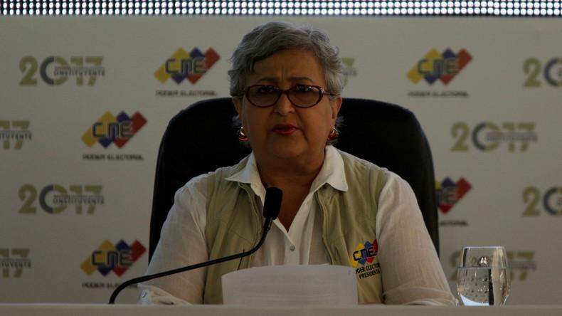 """Venezuelas Wahlbehörde will keine """"Megawahl"""" ausrichten"""