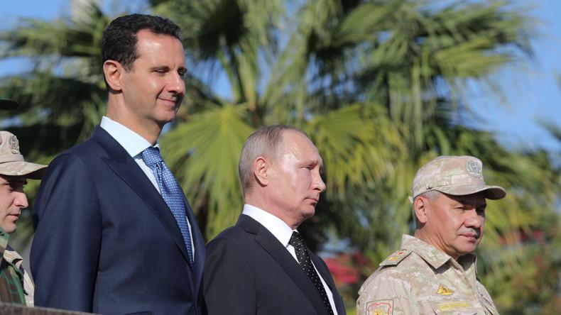 Angriffe gegen Regierungstruppen: USA zwingen Russland und Assad zum Setzen roter Linien