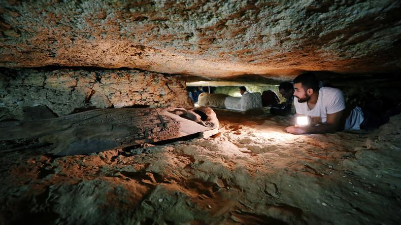 Deutsche und ägyptische Archäologen entdecken Totenstadt am Nil