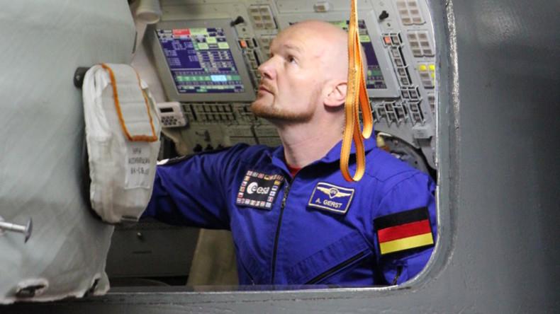 Deutscher Astronaut Alexander Gerst trainiert für Job als ISS-Kommandant