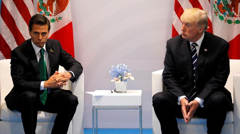 Mexikos Präsident legt US-Besuch nach frostigem Telefonat mit Donald Trump auf Eis