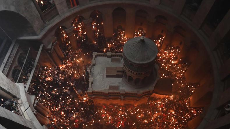 Grabeskirche in Jerusalem wird am Mittwoch wieder geöffnet