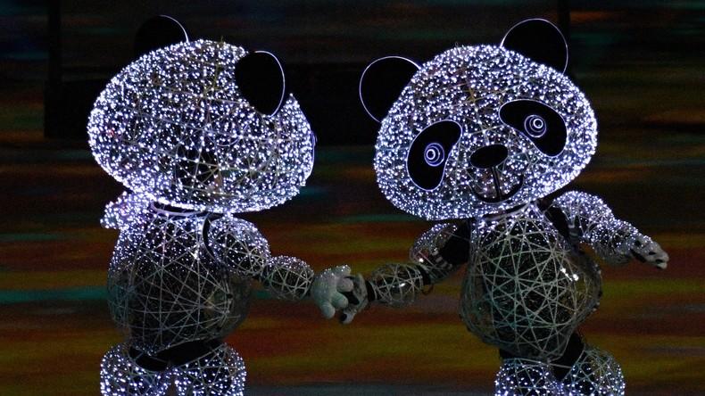 Olympische Winterspiele: Korea verabschiedet sich mit bunter Farbenshow
