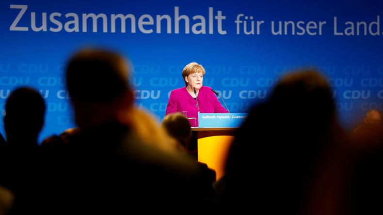 LIVE: Angela Merkel präsentiert Koalitionsvereinbarung auf CDU-Parteitag in Berlin
