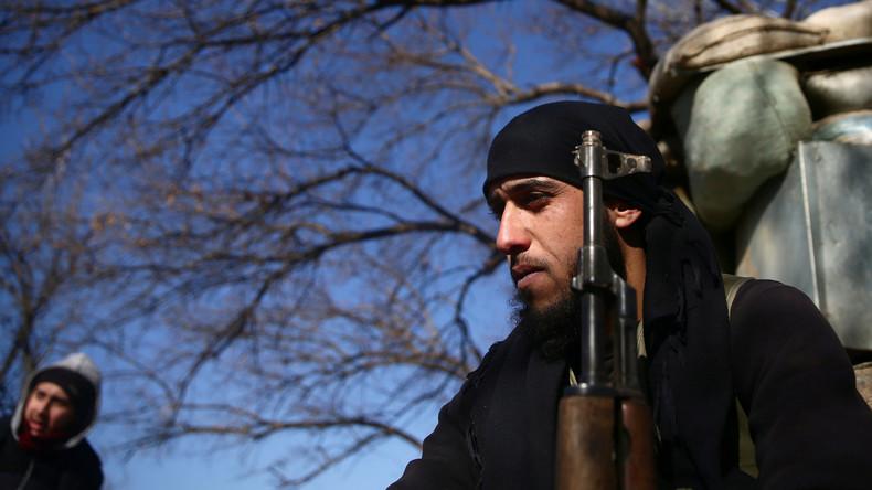 """Syrische Rebellen in Ost-Ghuta nehmen Zivilisten als Geiseln und planen """"chemische Provokationen"""""""