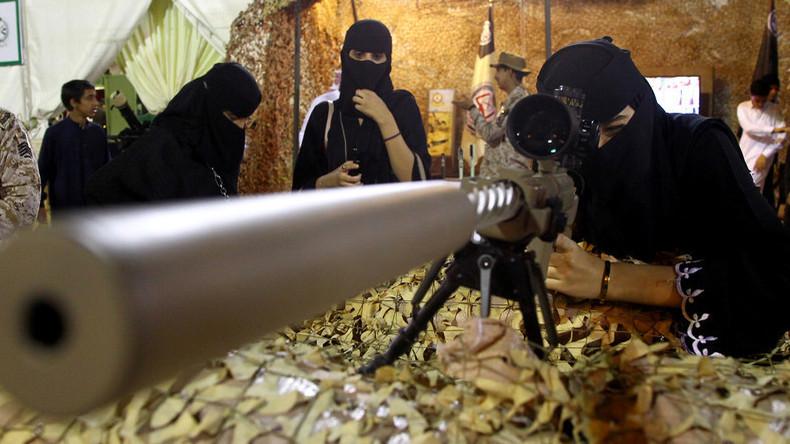 Saudi-Arabische Frauen dürfen jetzt in die Armee