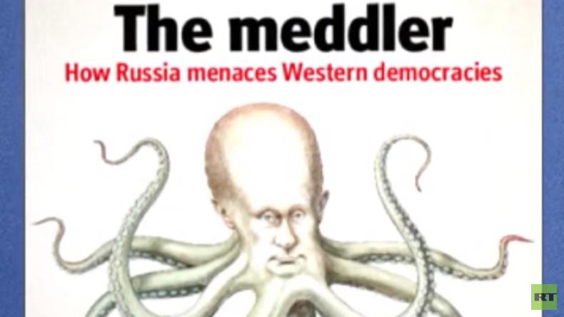 """Putin als """"Krake"""" – Die Propagandatricks aus der Mottenkiste (Video)"""