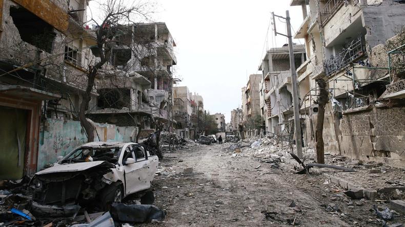 Russland verkündet tägliche humanitäre Kampfpausen für Syriens Ost-Ghuta-Gebiet