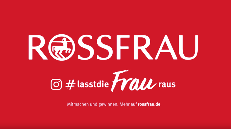 """Gendergerechtes Feiern: Drogeriekette Rossmann wird zum Weltfrauentag zur """"Rossfrau"""""""