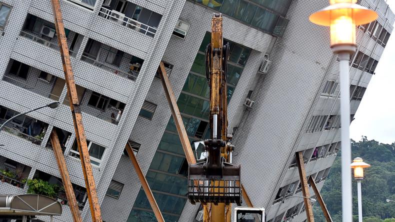 Nach schwerem Erdbeben in Taiwan: Chef einer Baufirma wegen Baumängeln festgenommen
