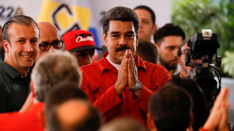 Nicolás Maduro lässt sich offiziell als Präsidentschaftskandidat eintragen