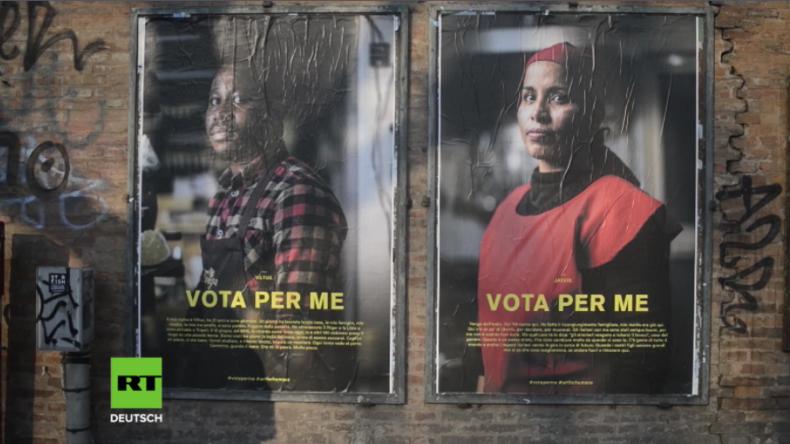"""Italien: """"Wähle für mich"""" - Kampagne gegen Angst vor Migration im Vorfeld der Wahlen gestartet"""