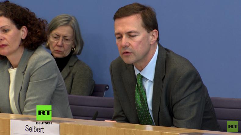 """Regierungssprecher Steffen Seibert zu No-Go-Areas: """"Sicherheit edelste Aufgabe des Staates"""""""
