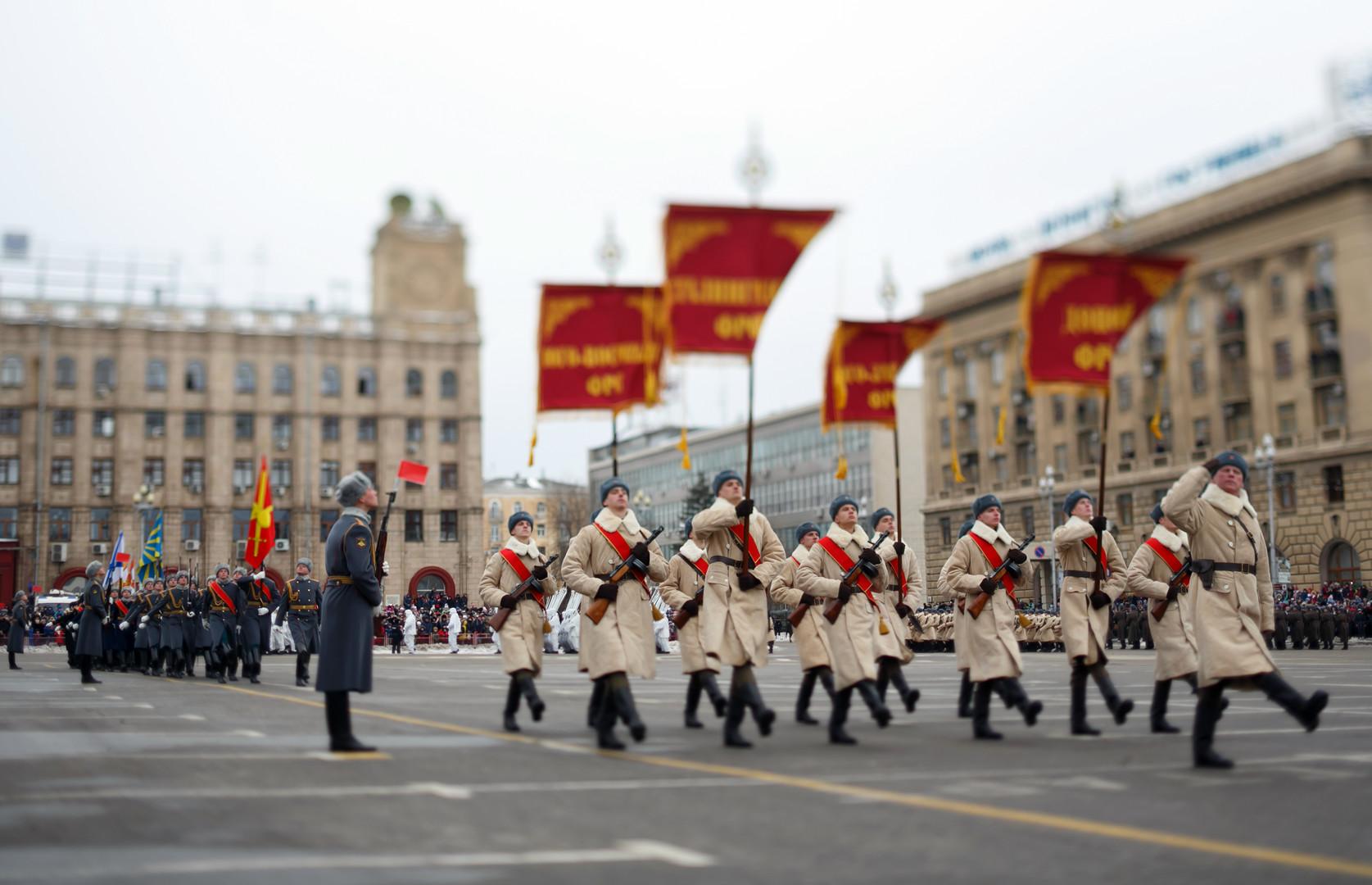 Historische Militärparade