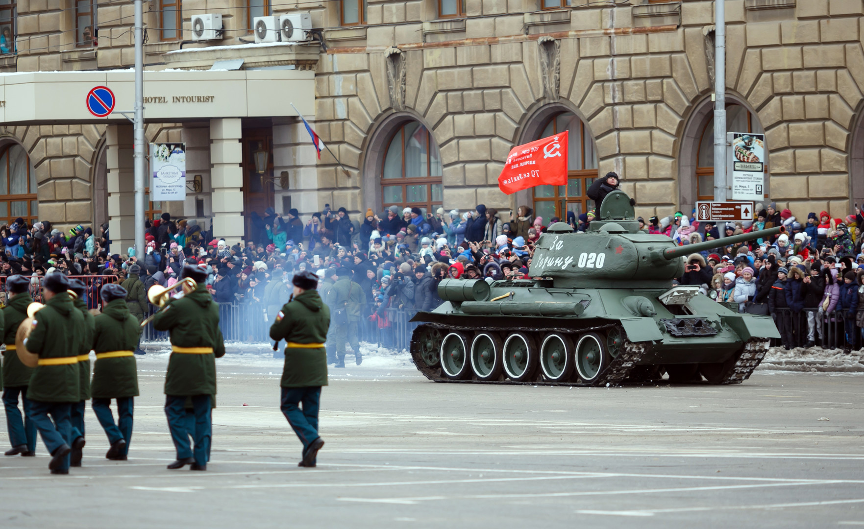 Der T-34, legendärer Panzer des Zweiten Weltkriegs