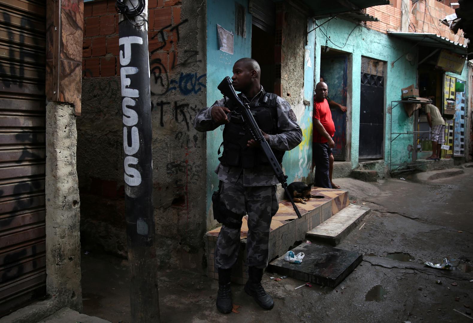Brasilien: Militärischer Dauereinsatz in Rio de Janeiro befeuert ...