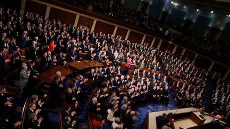 Der Kongress der USA bei der