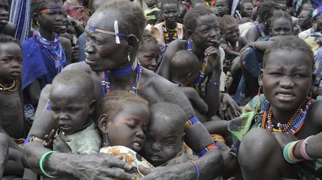 Flüchtlinge in Südsudan, 12. Januar 2012.
