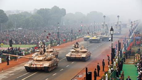 Parade zum Tag der Republik; Neu Delhi, Indien, 26. Januar 2018.