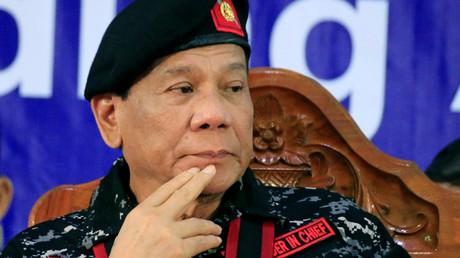 Rodrigo Duterte, philippinischer Präsident, Manila, Philippinen, 24. November 2017.