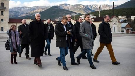 AfD-Delegation auf der Krim