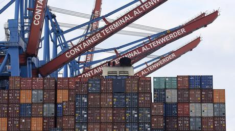 Auch am Hamburger Hafen wird der deutsche Handelsüberschuss verwaltet.