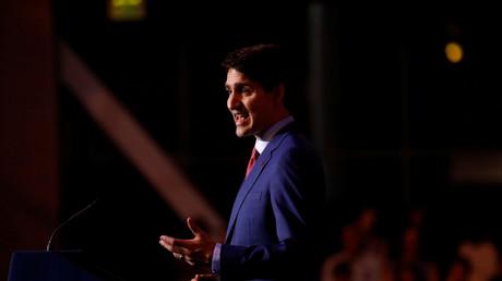 Der kanadische Ministerpräsident Justin Trudeau, ältester Sohn des ehemaligen Ministerpräsidenten Pierre Trudeau.