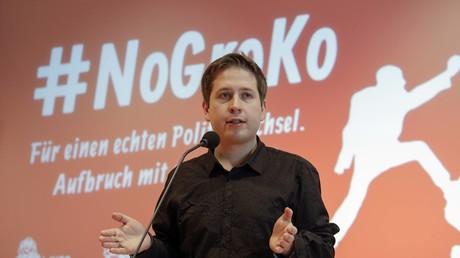 Kevin Kühnert, Bundesvorsitzender der Jungsozialisten