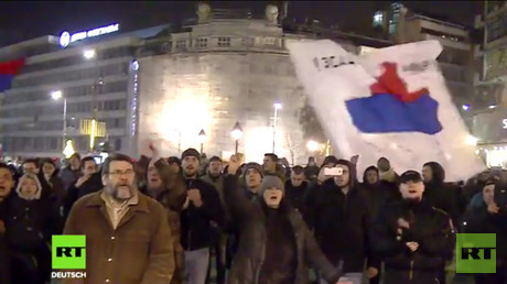 Proteste in Belgrad
