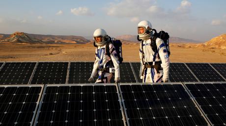 Israelische Forscher simulieren in der Wüste Leben auf dem Mars