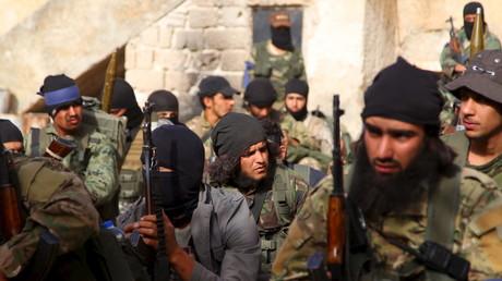 Kämpfer der al-Nusra Front in Ariha, Syrien, Juli 2015