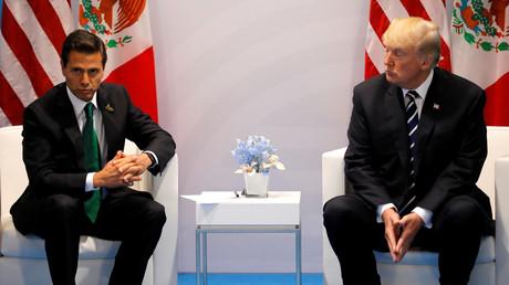 Mexikos Präsident legt US-Besuch nach frostigem Telefonat mit Donald Trump auf Eis (Archivbild)