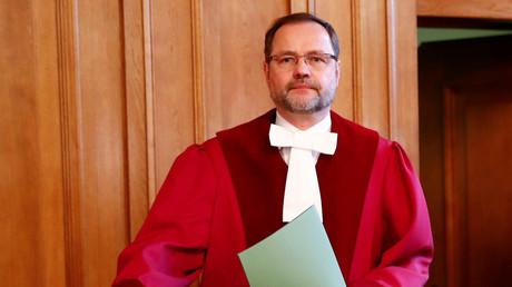 Richter Andreas Korbmacher im Bundesverwaltungsgericht in Leipzig.