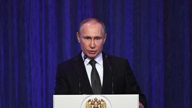 LIVE: Wladimir Putin hält Rede zur Lage der Nation