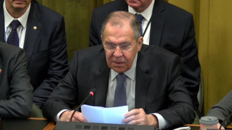 """Lawrow: """"USA trainieren EU-Staaten für Atomangriffe auf Russland"""""""