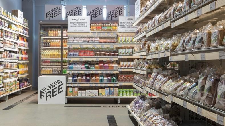 Zum Wohle des Planeten: Amsterdam stolz auf ersten Supermarkt mit komplett plastikfreiem Gang