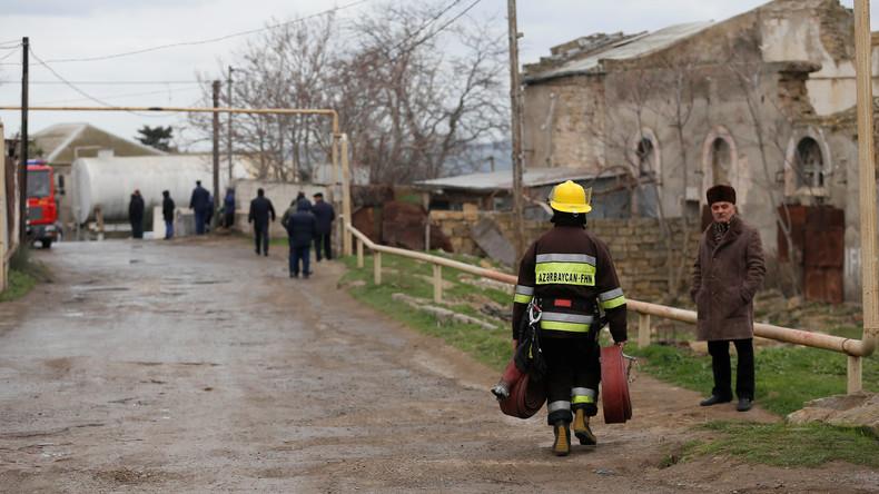 Baku: Mindestens 24 Tote bei Brand in Drogenklinik