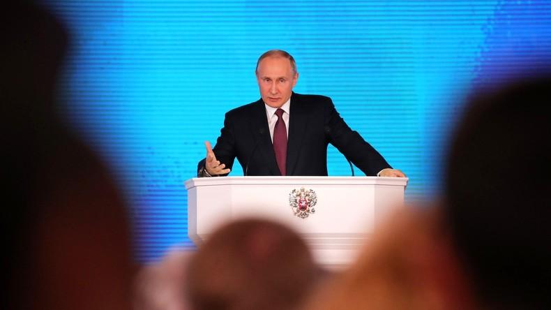 """Putin: """"Unsere wachsende militärische Macht ist eine solide Garantie für den Weltfrieden"""""""